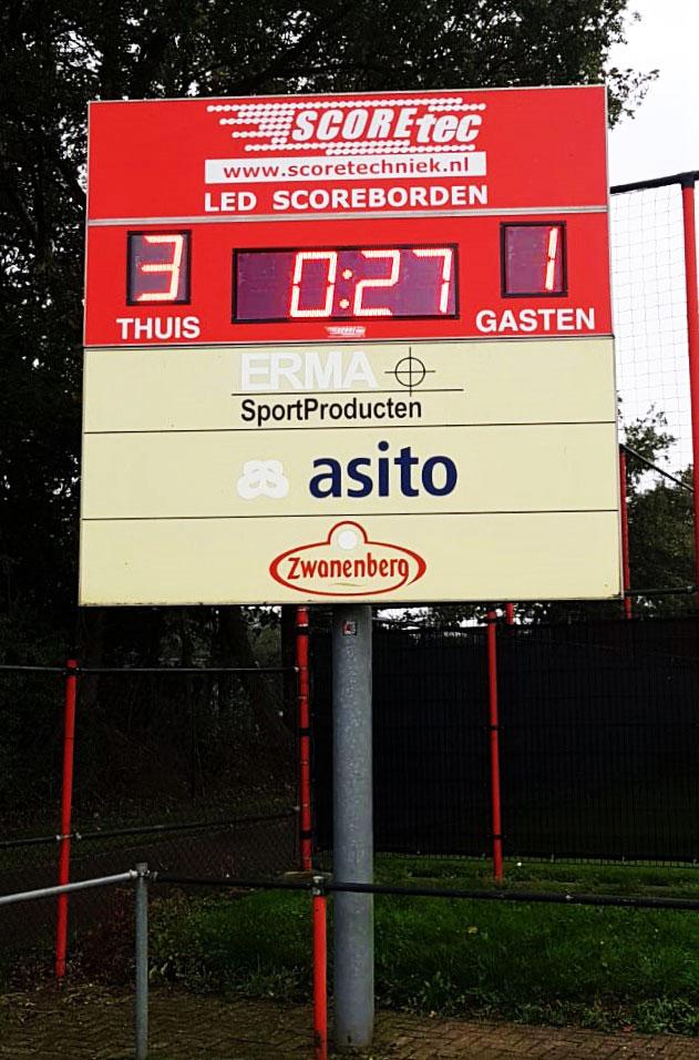 scorebord voetbal scoretec fc twente
