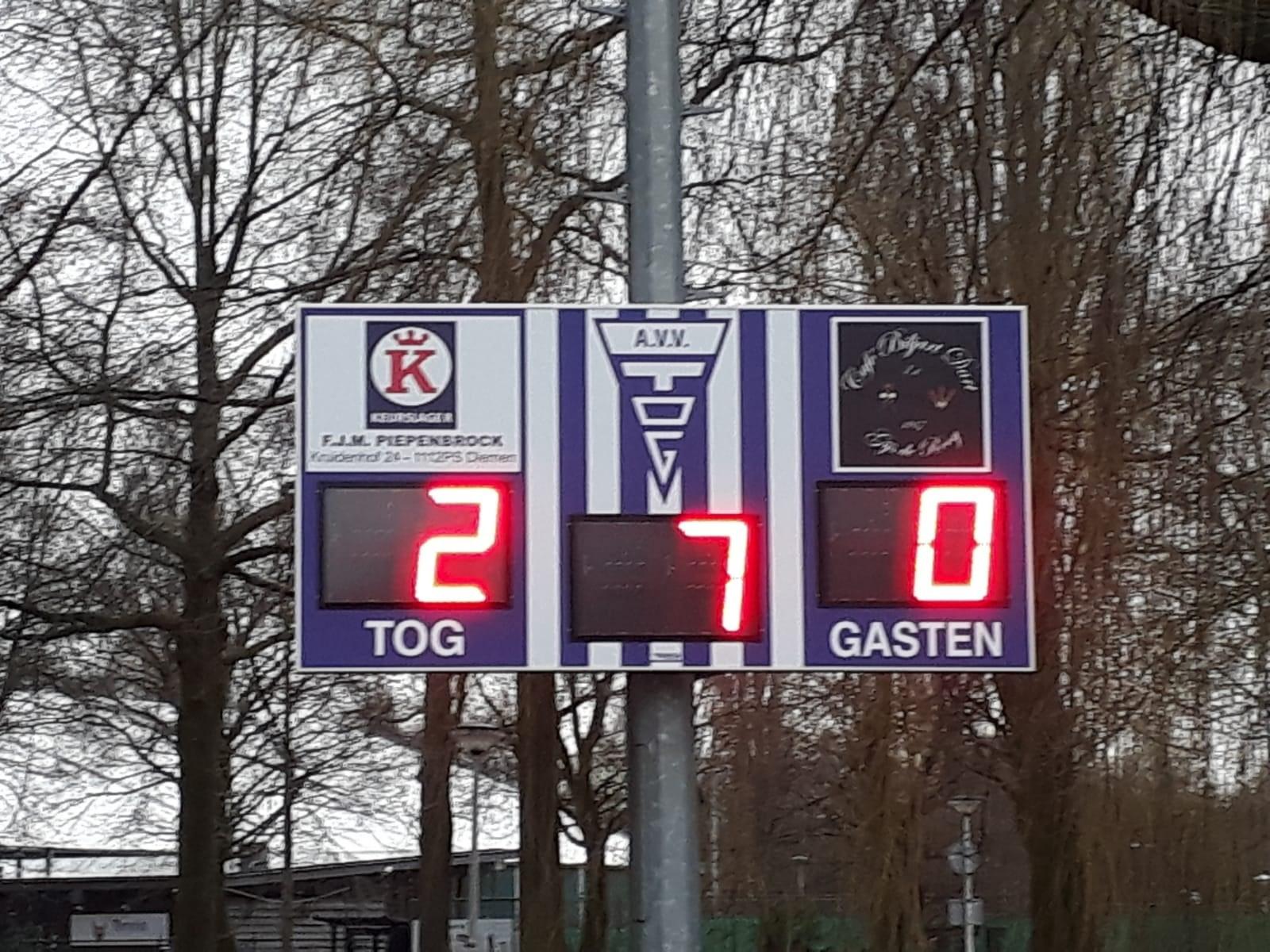 scorebord voetbal scoretec avv tog