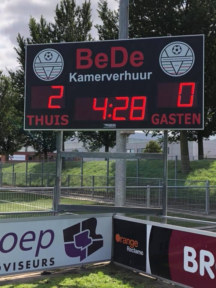 voetbalscorebord scorebord kranenburg