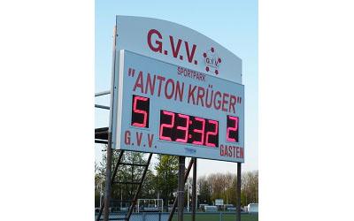 voetbalscorebord scorebord GVV scoretec