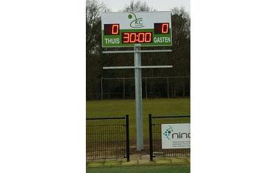 korfbalscorebord scorebord KC Doorn scoretec