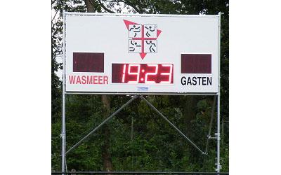 voetbalscorebord scorebord wasmeer scoretec