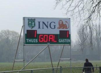 voetbal scorebord zwammerdam scoretec