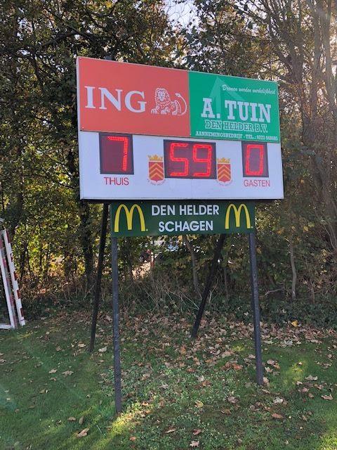 436 121 - FC Den Helder