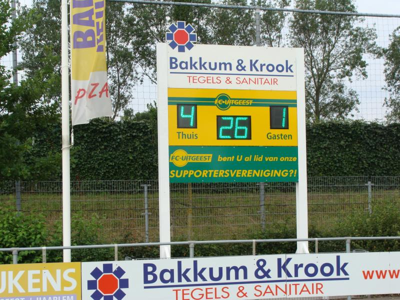 436 121 - FC Uitgeest1 GROEN