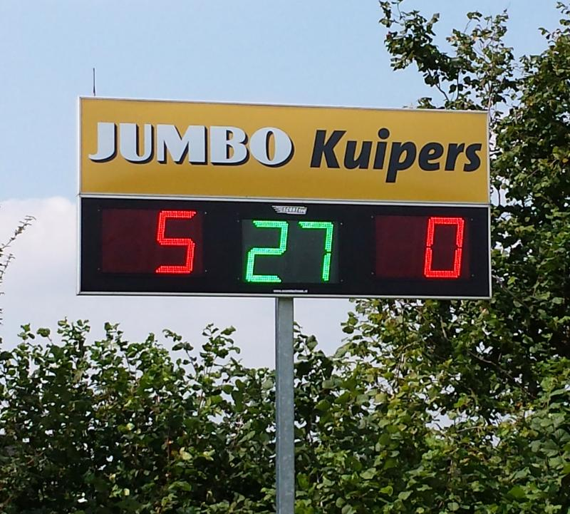 636 222 - HC-Bully Oldenzaal Hockey Scorebord